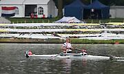Amsterdam. NETHERLANDS. <br />  Gold Medalist NOR. ASW1X. Birgit SKARSTIEN. .  2014 FISA  World Rowing. Championships.  De Bosbaan Rowing Course .   Thursday  28/08/2014  [Mandatory Credit; Peter Spurrier/Intersport-images]