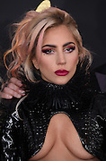 February 12, 2017 , Los Angeles, USA. 59EME GRAMMY AWARDS 2017, Lady Gaga@ the 59th Annual GRAMMY Awards held @ the Microsoft Theatre. <br /> ©Exclusivepix Media