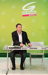 18.07.2017, Labstelle, Wien, AUT, Grüne, Sitzung des erweiterten Bundesvorstandes. im Bild Bundesgeschäftsführer Robert Luschnik // during board meeting of the greens in Vienna, Austria on 2017/07/18. EXPA Pictures © 2017, PhotoCredit: EXPA/ Michael Gruber