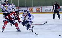 Ishockey , Get - ligaen ,<br /> 22.11.2012 <br /> Kristins Hall<br /> Lillehammer I.K  v Sparta Sarpsborg  5-2<br /> Foto:Dagfinn Limoseth  -  Digitalsport<br /> Blake Evans , Sparta og Stein Tore Bakken ,  Lillehammer