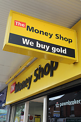 Sign advertising purchase of gold