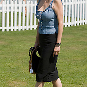 Windsor Great Park, 27th July  Marie Helvin at Smith Lawns, Cartier International Polo at the Guards Polo club