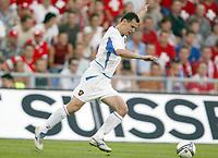 Fotball<br /> EM-kvalifisering 07.06.2003<br /> Sveits v Russland<br /> Sergei Ignashevitch - Russland<br /> Foto: Jean-Marie Hervio, Digitalsport