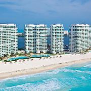 Bay View Grand complex.<br /> Cancun, Quintana Roo. Mexico.