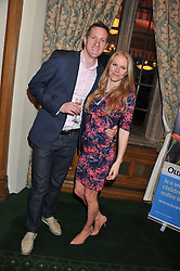 WILL GREENWOOD and his wife CARO at a reception for The Mirela Fund in partnership with Hope and Homes for Children hosted by Natalie Pinkham in The Churchill Room, House of Commons, London on 30th April 2013.