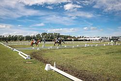Overzicht ringen<br /> SBB Competitie Jonge Paarden - Nationaal Kampioenschap - Kieldrecht 2014<br /> © Dirk Caremans