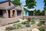 Drought Tolerant Garden, Atwater Village, Los Angeles, California, USA