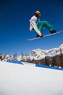 02/04/2011 Valmalenco (SO) : junior world chanpionships Snowboard  2011 - half pipe, male and female finals