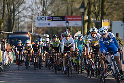 Two laps to go for the chasers  - Drentse 8, a 140km road race starting and finishing in Dwingeloo, on March 13, 2016 in Drenthe, Netherlands.