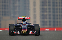 SAINZ carlos jr (spa) toro rosso str10 renault action during 2015 Formula 1 FIA world championship, China Grand Prix, at Shanghai from April 9th to 12th. Photo Alexandre Guillaumot / DPPI