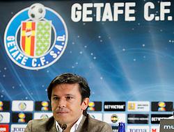 04.07.2011, Getafe, ESP, Primera Division, FC Getafe, Spielerpräsentation, im Bild Getafe's General Manager Toni Munoz. July 4, 2011. EXPA Pictures © 2011, PhotoCredit: EXPA/ Alterphotos/ Acero +++++ ATTENTION - OUT OF SPAIN / ESP +++++
