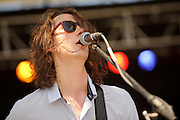 Troubadour Dali performing at the LouFest Music Festival in St. Louis on August 27, 2011