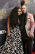 August 5, 2017-New York, New York, NY-United States: (L-R) DJ Beverly Bond, Founder, Black Girls Rock! and Recording Artist Bazaar Royala attends the 2017 Black Girls Rock! Awards Show powered by BET held at the New Jersey Performing Arts Center on August 3, 2017 in Newark, New Jersey. (Photo by Terrence Jennings/terrencejennings.com)