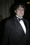 Sam Leith, Drinks Reception before the Man Booker Prize 2006. Guildhall, Gresham Street, London, EC2, 10 October 2006. -DO NOT ARCHIVE-© Copyright Photograph by Dafydd Jones 66 Stockwell Park Rd. London SW9 0DA Tel 020 7733 0108 www.dafjones.com