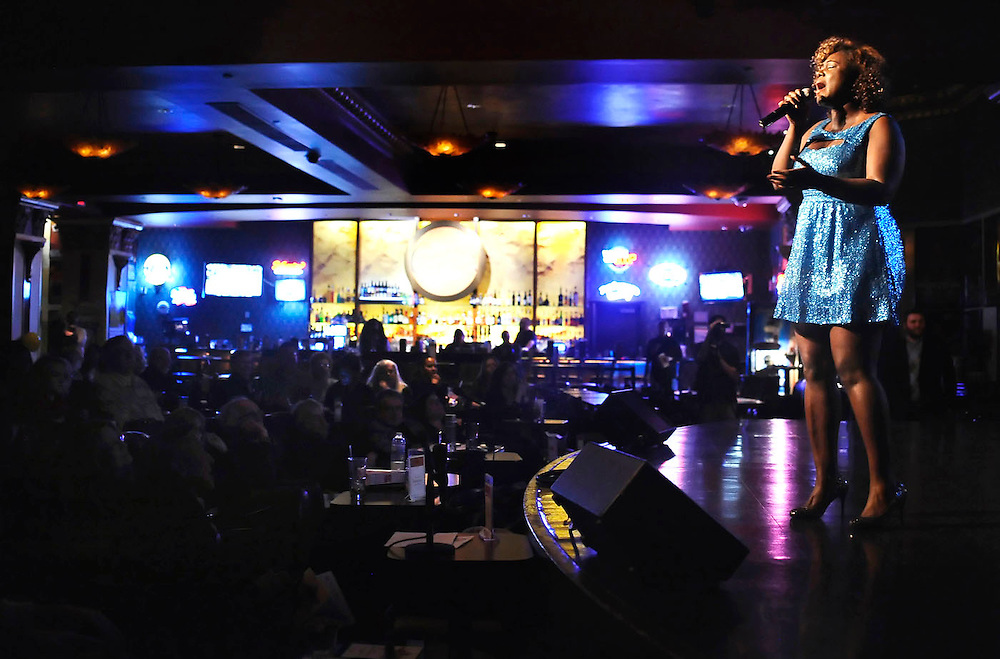 Nekita Waller performs at Foxwoods Casino.