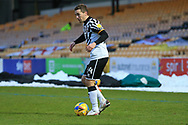 David Fitzpatrick (24) of Port Vale during the EFL Sky Bet League 2 match between Port Vale and Walsall at Vale Park, Burslem, England on 23 January 2021.