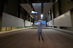 © Licensed to London News Pictures. 03/10/2016. Artist Philippe Parreno opens his  Hyundai commission titled 'Anywhere' in the Tate Modern Turbine Hall London, UK. Photo credit: Ray Tang/LNP