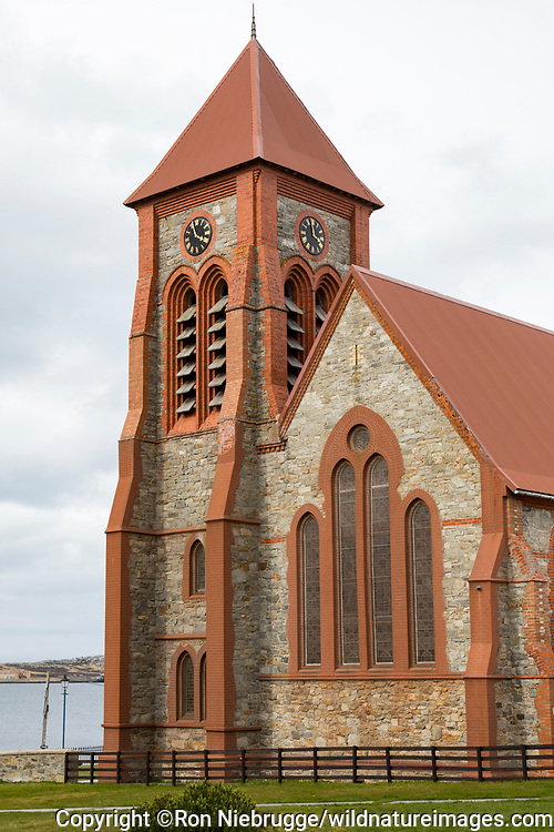 Christ Church Cathedral, Stanley, Falkland Islands.