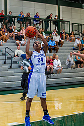 21 June 2014:  Malia Smith (24), 2014 Girls Illinois Basketball Coaches Association All Start game at the Shirk Center in Bloomington IL