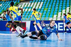 Valentina Klemencic of RK Krim (SLO) during handball match between RK Krim Mercator (SLO) vs Metz Handball  (FRA) in DELO EHF Women's Champions League 2020/21, on January 16, 2021 in SRC Stozice, Ljubljana, Slovenia. Photo by Grega Valancic / Sportida