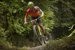 Mitja Drinovec of Sweet Nice Contin during the race of XCO National Championship of Slovenia 2021 on 27.06.2021 in Kamnik, Slovenia. Photo by Urban Meglič / Sportida