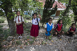 April 17, 2018 - East Timor South, East Nusa Tenggara, Indonesia - The life of the people still poor, school facility still poor, and home condition still poor. East Nusa Tenggara is one of the poorest regiion in Indonesia. (Credit Image: © Donal Husni via ZUMA Wire)
