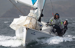 Day one of the Silvers Marine Scottish Series 2015, the largest sailing event in Scotland organised by the  Clyde Cruising Club<br /> Racing on Loch Fyne from 22rd-24th May 2015<br /> <br /> GBR8215N, Red Hot Poker, Murray Caldwell, Cove SC<br /> <br /> <br /> Credit : Marc Turner / CCC<br /> For further information contact<br /> Iain Hurrel<br /> Mobile : 07766 116451<br /> Email : info@marine.blast.com<br /> <br /> For a full list of Silvers Marine Scottish Series sponsors visit http://www.clyde.org/scottish-series/sponsors/