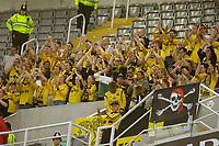Fotball<br /> Intertoto Cup<br /> 15.07.2006<br /> Newcastle United v Lillestrøm<br /> Foto: Jed Wee/SBI/Digitalsport<br /> NORWAY ONLY<br /> <br /> Lillestrøm fans applaud an excellent first half performance by their team.