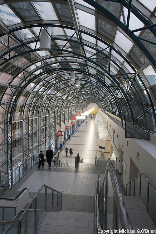 Skywalk - heading towards Union Station - Toronto, Ontario, Canada