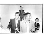 Toby Mott, Michael Merhemitch, Toby Mott private view. Maureen Paley Interim Art, 21 Beck Rd, Londoon E8, 7th Sep 1997© Copyright Photograph by Dafydd Jones 66 Stockwell Park Rd. London SW9 0DA Tel 020 7733 0108 www.dafjones.com