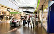 Shopping mall at Manufaktura entertainment and cultural center. Balucki District Lodz Central Poland