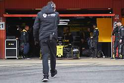 February 19, 2019 - Barcelona, Spain - Australian driver Daniel Ricciardo of French  team Renault F1 Team driving his single-seater RS19 during Barcelona winter test in Catalunya Circuit in Montmel?, Spain, on February 19, 2019. (Credit Image: © Andrea Diodato/NurPhoto via ZUMA Press)