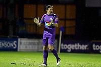 Ben Hinchliffe. Stockport County FC 0-2 Sutton United FC. Vanarama National League. Edgeley Park. 2.2.21
