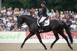 Darcourt Caroline, (SWE), Van Vivaldi<br /> Final 5 years old horses<br /> World Championship Young Dressage Horses - Verden 2015<br /> © Hippo Foto - Dirk Caremans<br /> 08/08/15