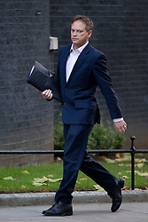 © Licensed to London News Pictures. 26/11/2013. London, UK. Grant Shapps, Minister without Portfolio, arrives for a meeting of British Prime Minister David Cameron's Cabinet on Downing Street in London today (26/11/2013). Photo credit: Matt Cetti-Roberts/LNP
