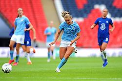 Georgia Stanway of Manchester City Women in action- Mandatory by-line: Nizaam Jones/JMP - 29/08/2020 - FOOTBALL - Wembley Stadium - London, England - Chelsea v Manchester City - FA Women's Community Shield