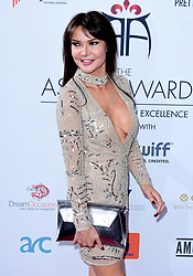Lizzie Cundy attending the 8th Annual Asian Awards held at the Hilton Hotel, Park Lane, London.