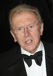 © Licensed to London News Pictures. 01/09/13 Sir David Frost dies. FILE PICTURE: LONDON - OCTOBER 23: David Frost attended the Royal World Film Premiere of 'Skyfall' at the Royal Albert Hall, London, UK. October 23, 2012. Photo credit : Richard Goldschmidt/Piqtured/LNP