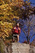 Male hiker.