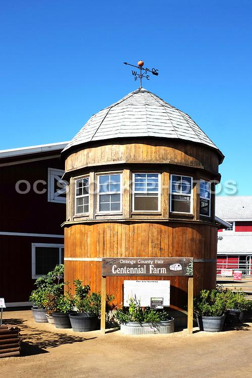 The Silo Building at Orange County Fair Centennial Farm
