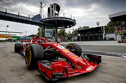 August 31, 2018 - Monza, Italy - Motorsports: FIA Formula One World Championship 2018, Grand Prix of Italy, .#7 Kimi Raikkonen (FIN, Scuderia Ferrari) (Credit Image: © Hoch Zwei via ZUMA Wire)