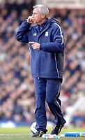 Photo: Daniel Hambury.<br />West Ham United v Portsmouth. The Barclays Premiership. 18/03/2006.<br />West Ham's manager Alan Pardew.