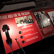 New exhibits making use the LBJ White House Tapes at the LBJ Museum. The LBJ Library and Museum (LBJ Presidnetial Library) is one of the 13 presidential libraries administered by the National Archives and Records Administration. It houses historical documents from Lyndon Johnson's presidency and political life as well as a museum.
