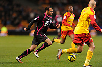 FOOTBALL - FRENCH CHAMPIONSHIP 2010/2011 - L1 - RC LENS v TOULOUSE FC  - 12/03/2011 - PHOTO JULIEN CROSNIER / DPPI - DANIEL BRAATEN (TFC)