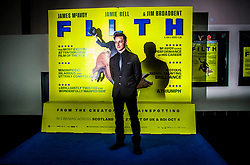 James McAvoy, <br /> Edinburgh hosts the World Premiere of Filth at the Omni cinema.<br /> ©Michael Schofield.