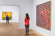 The Arena of the Sun, 1954 s - Princess Fahrelnissa Zeid: the UK's first retrospective of a pioneering artist best known for her large-scale colourful canvases, fusing European approaches to abstract art with Byzantine, Islamic and Persian influences. The exhibition is at Tate Modern from 13 June – 8 October 2017.
