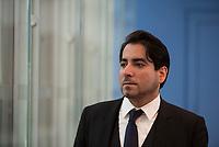 DEU, Deutschland, Germany, Berlin, 02.10.2015: Portrait Prof. Dr. Mouhanad Khorchide, Leiter des Zentrums für Islamische Theologie der Universität Münster.