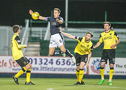 Falkirk's Will Vaulks. Falkirk 2 v 0 Livingston, Scottish Championship game played 29/12/2015 at The Falkirk Stadium.