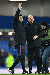 December 23, 2018 - Liverpool, Liverpool, United Kingdom - Tottenham Hotspur manager Mauricio Pochettino waves to the fans after the final whistle during the Premier League match at Goodison Park, Liverpool, UK.  Everton v Tottenham Hotspur - Premier League - Goodison Park. Goodison Park. (Credit Image: © Anthony Devlin/i-Images via ZUMA Press)