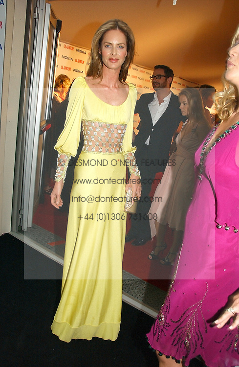 TRINNY WOODALL at the 2006 Glamour Women of the Year Awards 2006 held in Berkeley Square Gardens, London W1 on 6th June 2006.<br /><br />NON EXCLUSIVE - WORLD RIGHTS